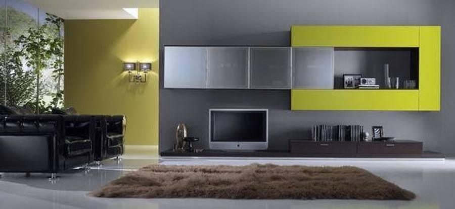 Foto zona giorno moderno parete attrezzata spar arreda da for Spazio arredamenti caltagirone
