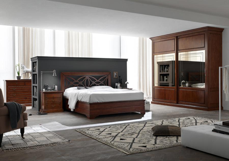 Foto zona notte classico camera da letto le monde de - Mobili le monde ...
