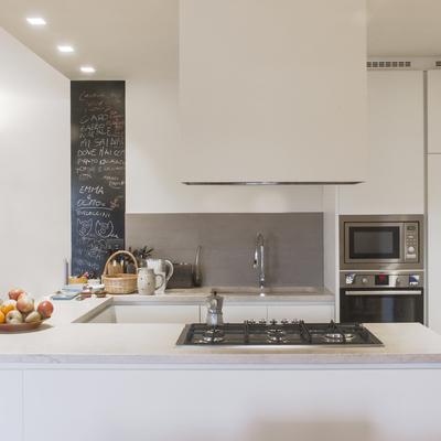 una cucina integrata