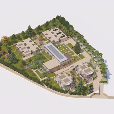 Nuova costruzione in Bioedilizia Ville singole e appartamenti in Villa