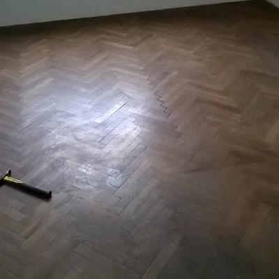 Condizioni del pavimento dopo 50 anni...