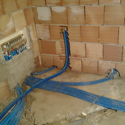 Collettore impianto idrico sanitario