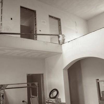 Interno di abitazione privata prima dell'intervento
