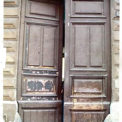 10 portone prima del restauro