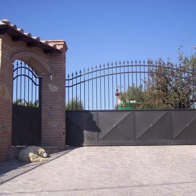 Cancello ingresso scorrevole