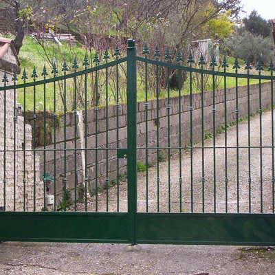 Cancello ingresso battente