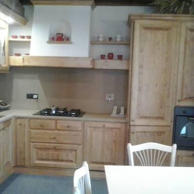 cucina in larice
