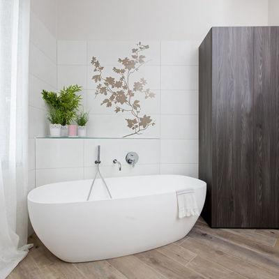 Mobile contenitore e armadio a colonna per bagno moderno