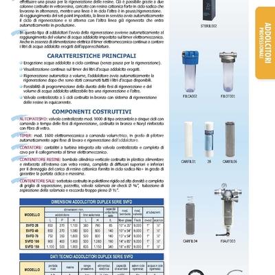 Materiali Idraulica, Idraulica, Addolcitori Residenziali
