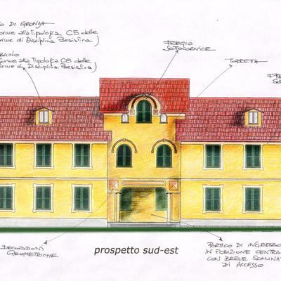Nuovo edificio residenziale in Comune di Mignanego