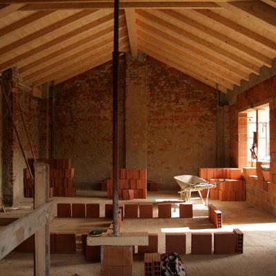 Realizzazione di nuovo tetto in legno