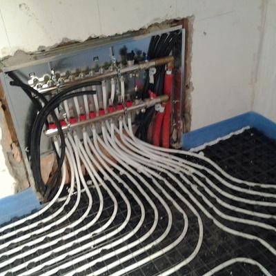 Collettore impianto riscaldamento a pavimento