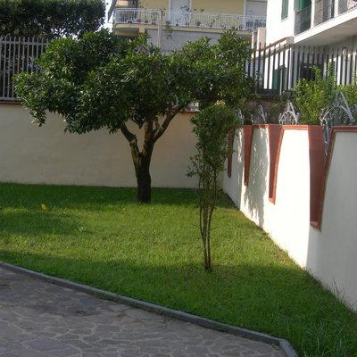 giardino posteriore