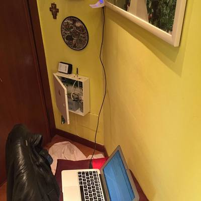 Centralina allarme wireless con tastiera