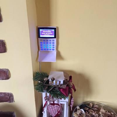 Tastiera impianto allarme