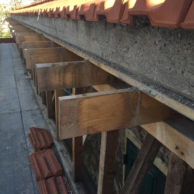 rifacimento tetto in cemento armato