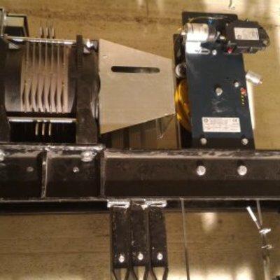 motore gearless per piattaforma elevatrice