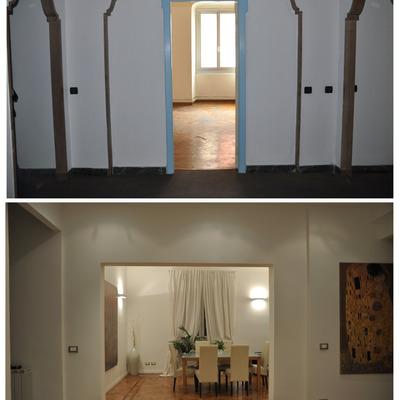 Trasformazione ufficio in abitazione - Genova