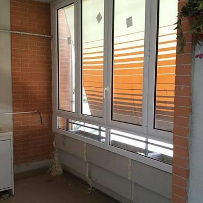 vetrata in alluminio
