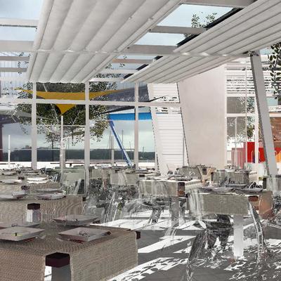 2012 - Ristorante, laboratorio di mozzarella e centro fitness, Lisbona - Portogallo