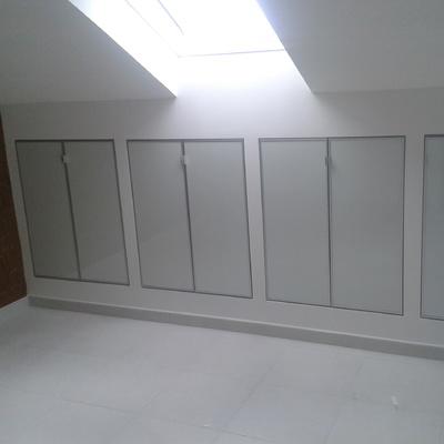 armadio mansarda