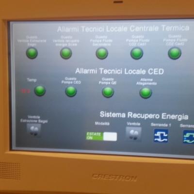 Integrazione di sistemi per l'allarmistica