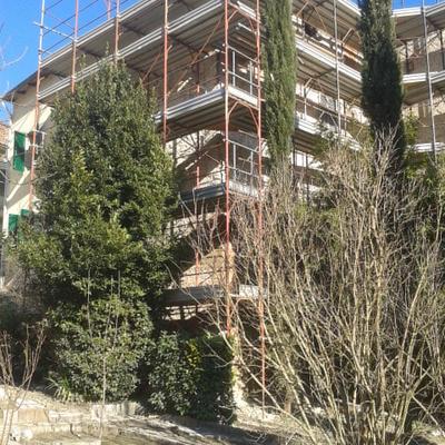 Ristrutturazione tetto e facciata a Asciano (Si)