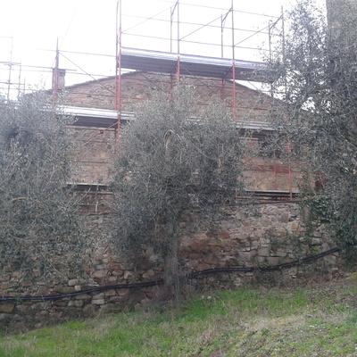 Ristrutturazione tetto casolare a Sinalunga
