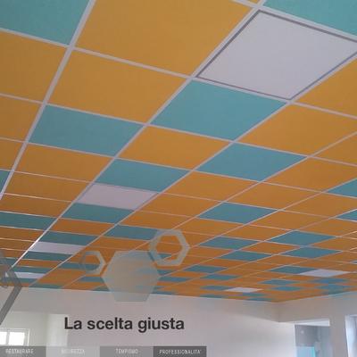 soffitti scuola elementare Pieve San Paolo (LU)