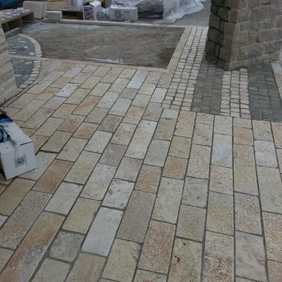 8. pavimentazione pietra naturale