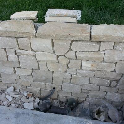10. muretto e copertine pietra naturale