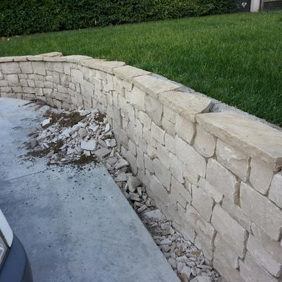 11. muretto e copertine pietra naturale