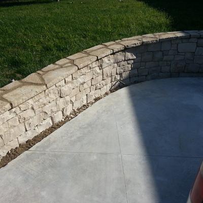 12.  muretto e copertine pietra naturale