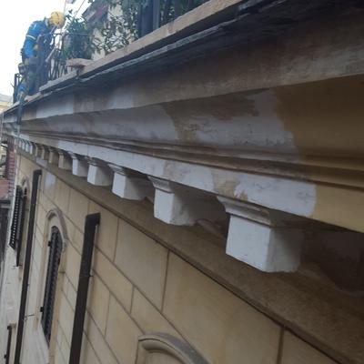 Ripristino cornicione storico ROMA