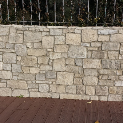 1. muretto recinzione