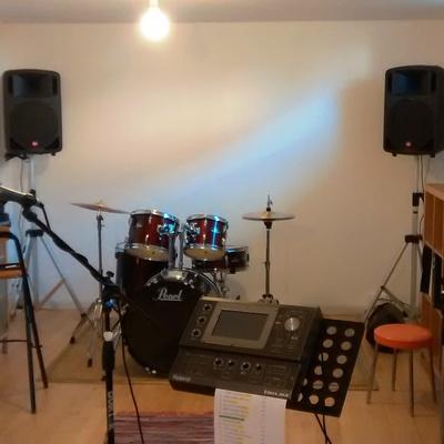 Sala prove musicali, sala d'ascolto
