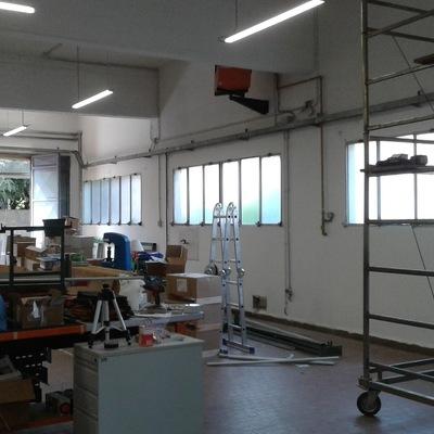 impianto elettrico  capannoni
