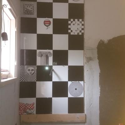parete lavabo
