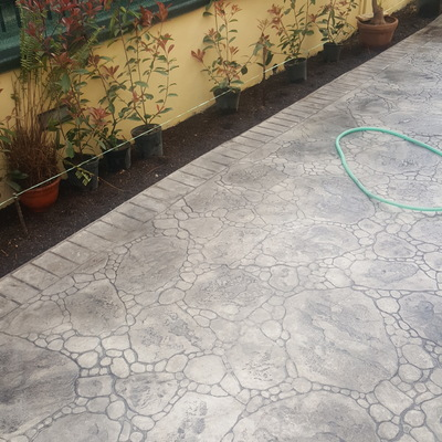 pavimento stampato