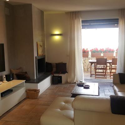 Villa su quattro livelli 220 mq