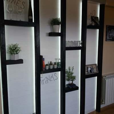 parete decorativa funzionale