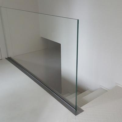 Parapetto in vetro