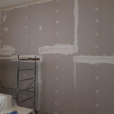 Contro parete in cartongesso