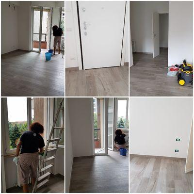 Pulizia apartamento post ristrutturazione