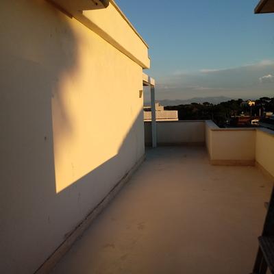 Taglio muro terrazza