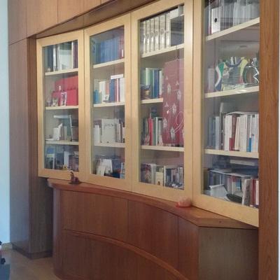 Armadio e libreria