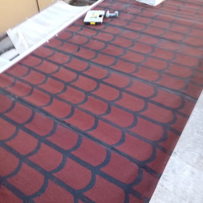 Impermeabilizzazione tetto con particolare tecnica di isolamento termo acustico