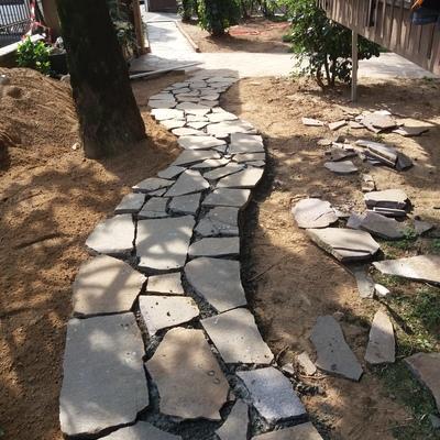 posa pietre giardino