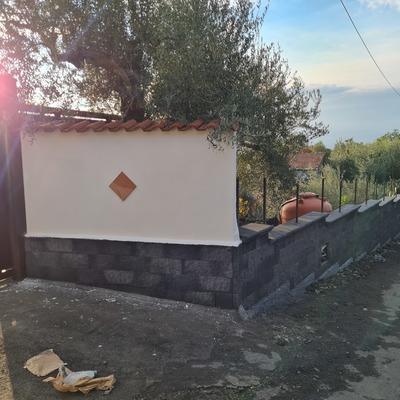Muro di confine