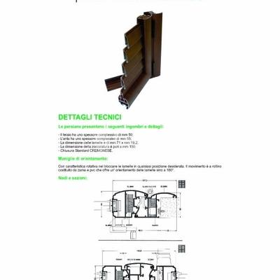 Persiane, Infissi Alluminio, Alluminio/legno